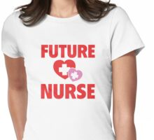 Future Nurse Womens Fitted T-Shirt