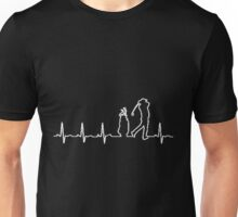 GOLF HEARTBEAT Unisex T-Shirt