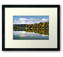 New York Cincinnatus Lake Framed Print