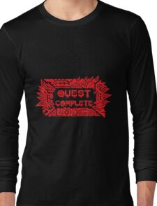 Monster Hunter Quest Complete Long Sleeve T-Shirt