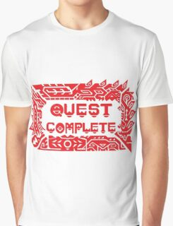 Monster Hunter Quest Complete Graphic T-Shirt