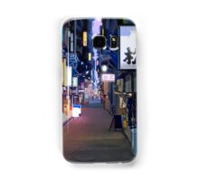Night in Japan  Samsung Galaxy Case/Skin