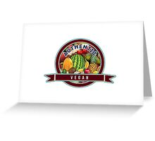 Authentic Vegan Greeting Card