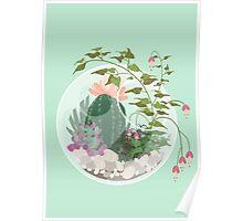 Round Terrarium Poster