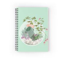 Round Terrarium Spiral Notebook