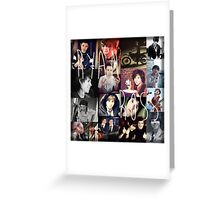 Ryan Ross collage collection n__n Greeting Card