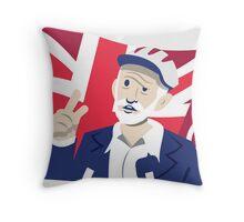 Jeremy Corbyn Throw Pillow