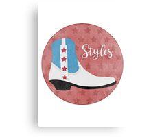 Styles Canvas Print