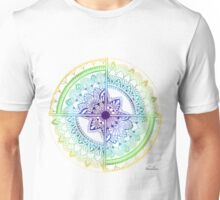 Beginnings Rainbow Mandala Unisex T-Shirt