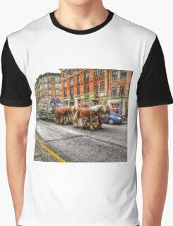 Dray horses Graphic T-Shirt