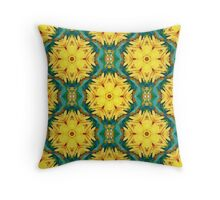 Always a Season for Sunflowers_ReImaged Throw Pillow