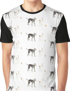 Pet Family Graphic T-Shirt