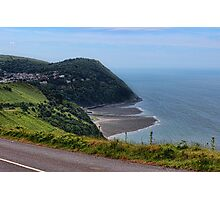 Lynton and Lynmouth Devon Photographic Print