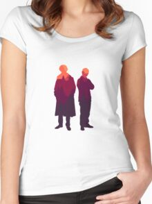 Partners in Crime  Women's Fitted Scoop T-Shirt