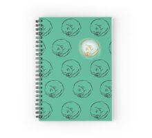 Sleeping Cats Spiral Notebook