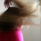 Fair hair flying by Maggie Hegarty