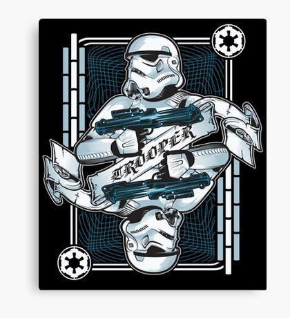 Trooper Canvas Print