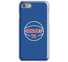 SOSO DEF 72 iPhone Case/Skin