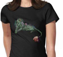 Garden Lion Womens Fitted T-Shirt