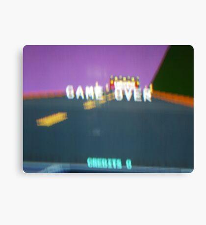 Arcade - Game Over Canvas Print