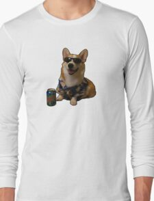 Slurms Mckenzie Dog Long Sleeve T-Shirt