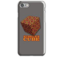Kubrick's Cube iPhone Case/Skin