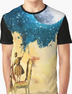 Painting Stars Graphic T-Shirt