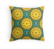 Always a Season for Sunflowers_ReImaged_#3 Throw Pillow