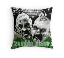 zombie disco Throw Pillow