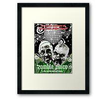 zombie disco Framed Print