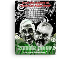 zombie disco Canvas Print