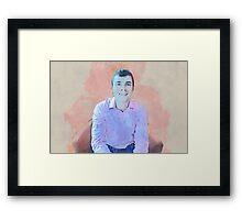 James Framed Print