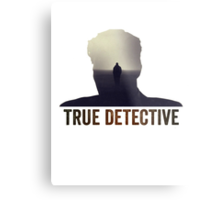 True Detective Intro Tshirt Metal Print