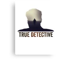 True Detective Intro Tshirt Canvas Print