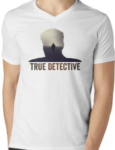 True Detective Intro Tshirt Mens V-Neck T-Shirt