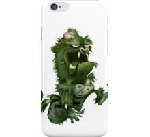 zombie ape iPhone Case/Skin