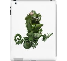 zombie ape iPad Case/Skin