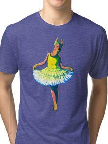 Dressed Doberman Tri-blend T-Shirt