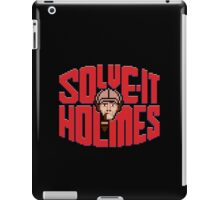 Solve it Holmes iPad Case/Skin