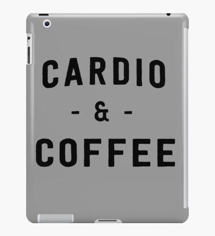 Cardio and Coffee iPad Case/Skin