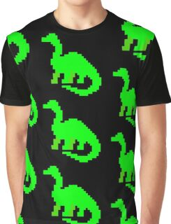 Green Dino Graphic T-Shirt