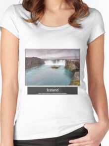 Iceland Women's Fitted Scoop T-Shirt
