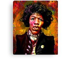 Jimmy Hendrix Fanart Canvas Print
