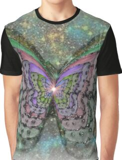 STARLITE BUTTERFLY Graphic T-Shirt