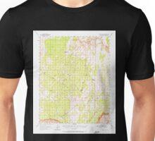 USGS TOPO Map Arizona AZ Paria Plateau 314872 1954 62500 Unisex T-Shirt