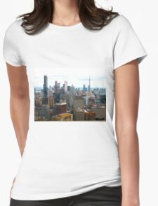 Hollywood North Womens Fitted T-Shirt