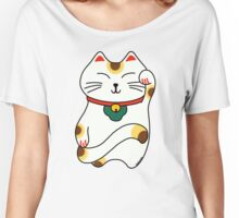 Maneki Neko - Japanese lucky cat Women's Relaxed Fit T-Shirt