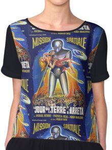 Grindhouse Lounge presents:The Day the Earth Stood Still(French promo) Chiffon Top