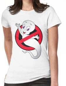 Casper Busted Womens Fitted T-Shirt