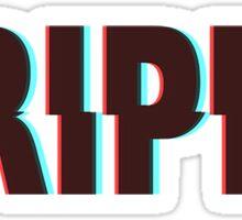 Trippy 3D Sticker